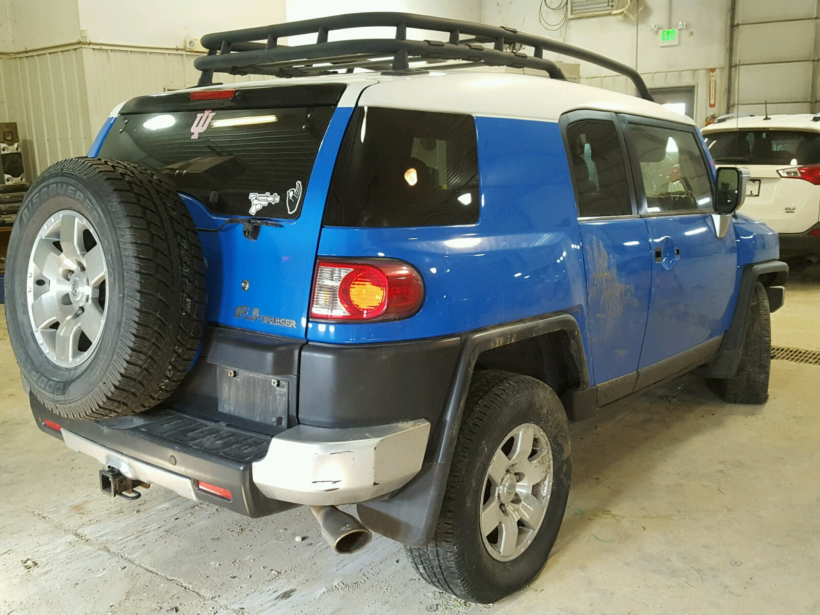 Jtebu11f470018139 2007 Blue Toyota Fj Cruiser On Sale In Mo 1973 Land Front Differ 40l Rear View