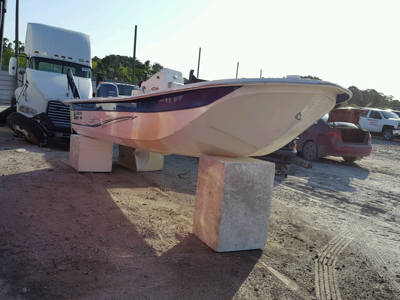 Salvage 2016 Carson BOAT for sale