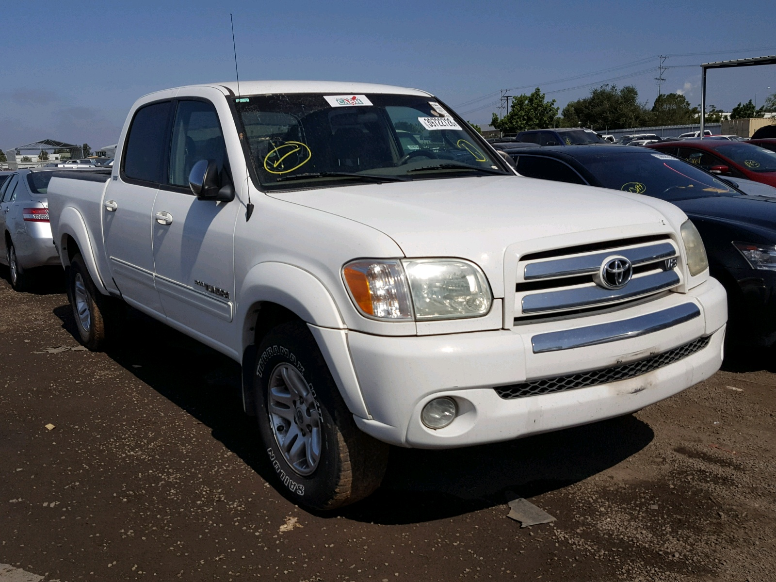 2005 Toyota Tundra DOU for sale at Copart San Diego CA Lot