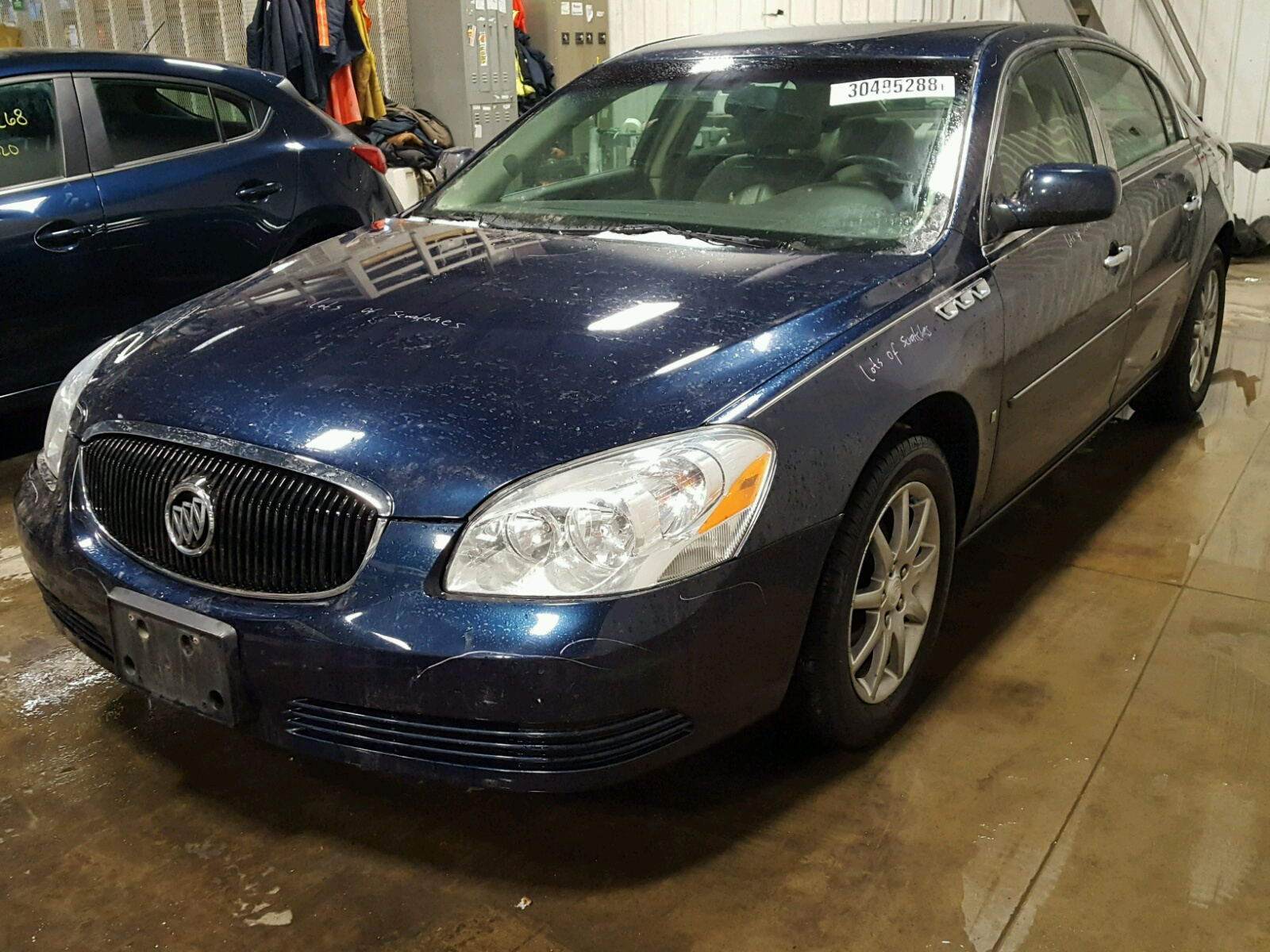 cx nc buick salvage view lucerne in auto auctions en carfinder gray on for title certificate sale of copart left lot raleigh online