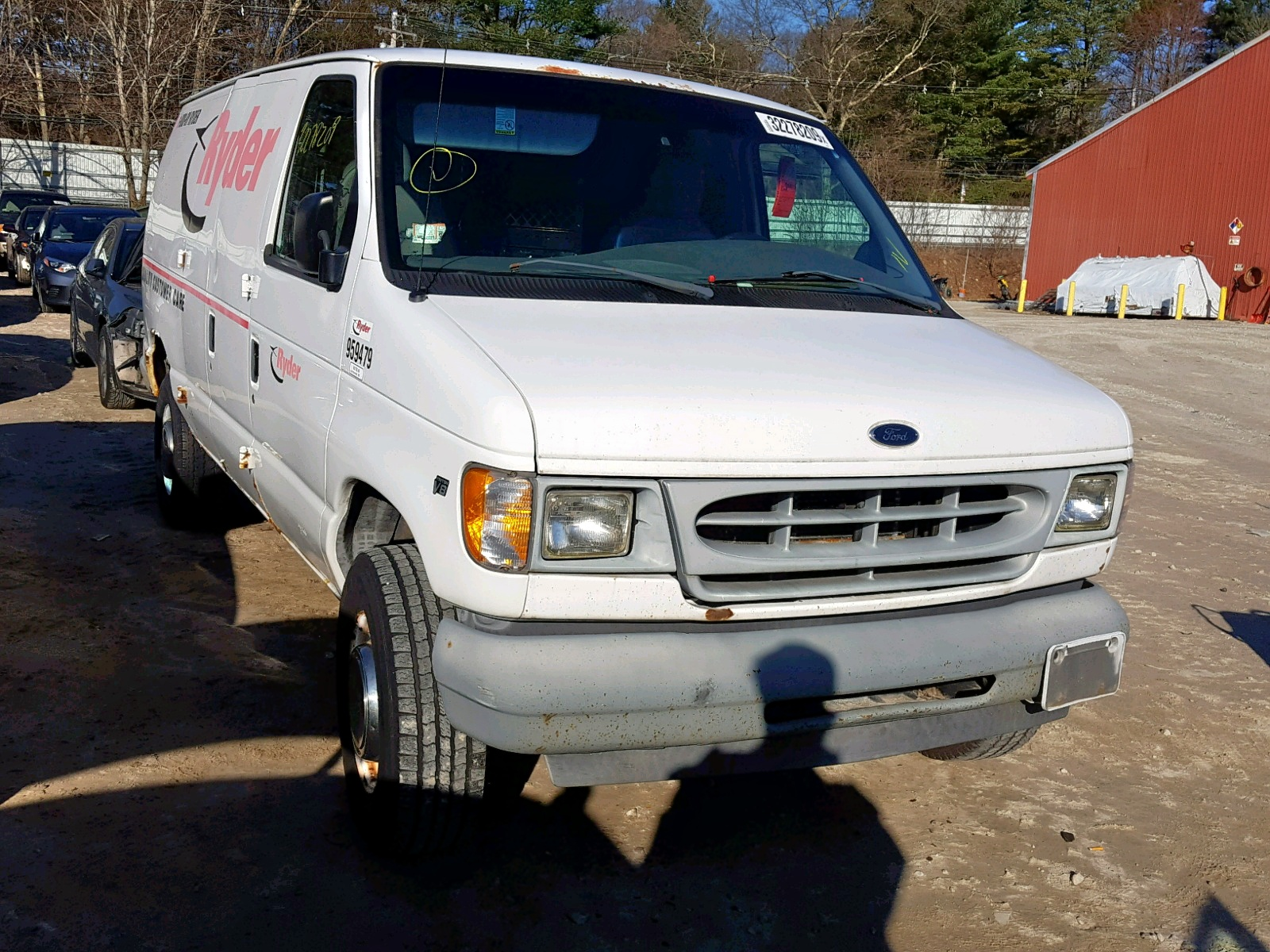 Salvage 2002 Ford ECONOLINE for sale
