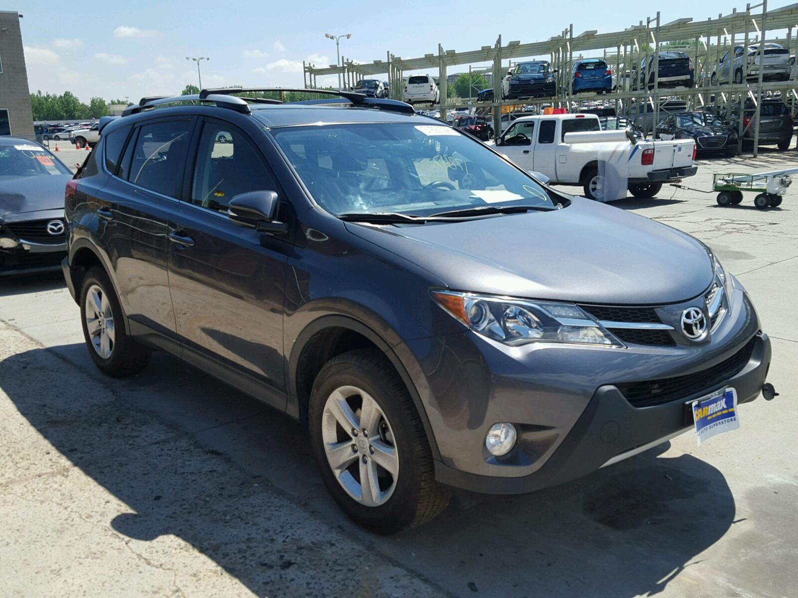 Salvage 2014 Toyota RAV4 XLE for sale