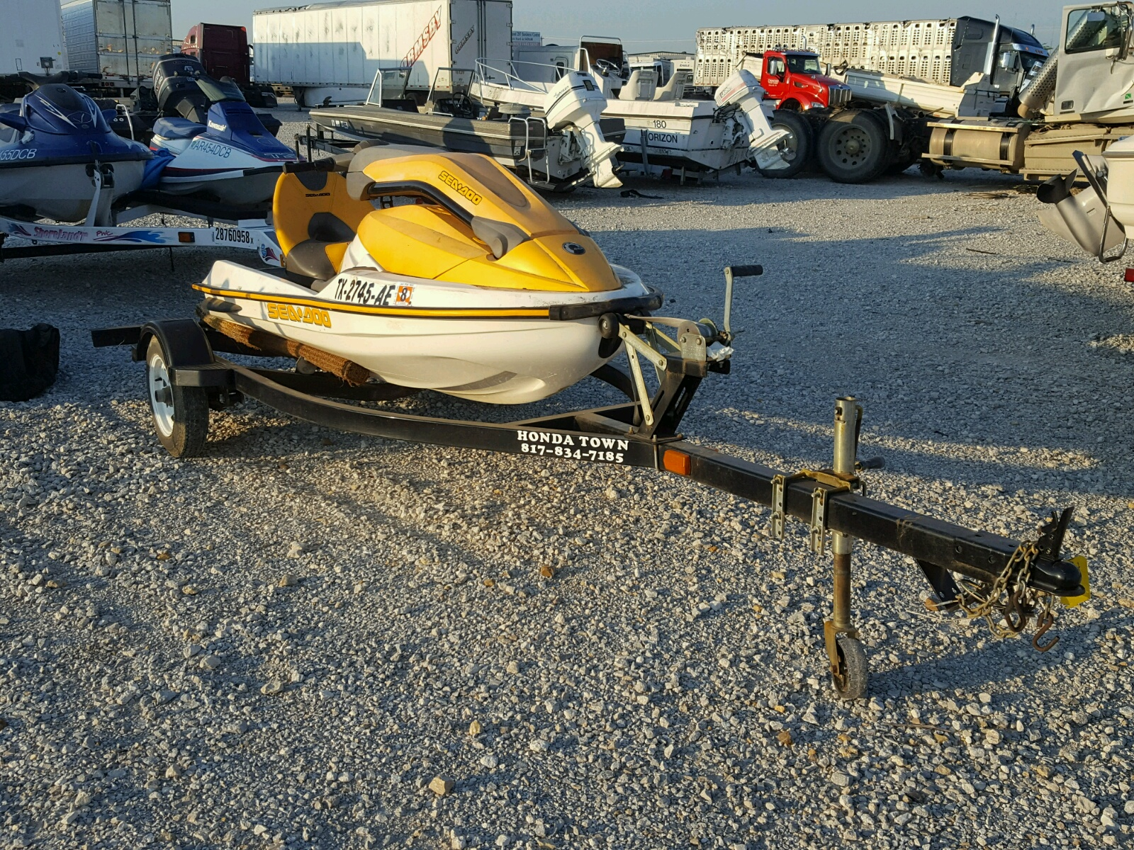 Salvage 2005 Seadoo 3D for sale