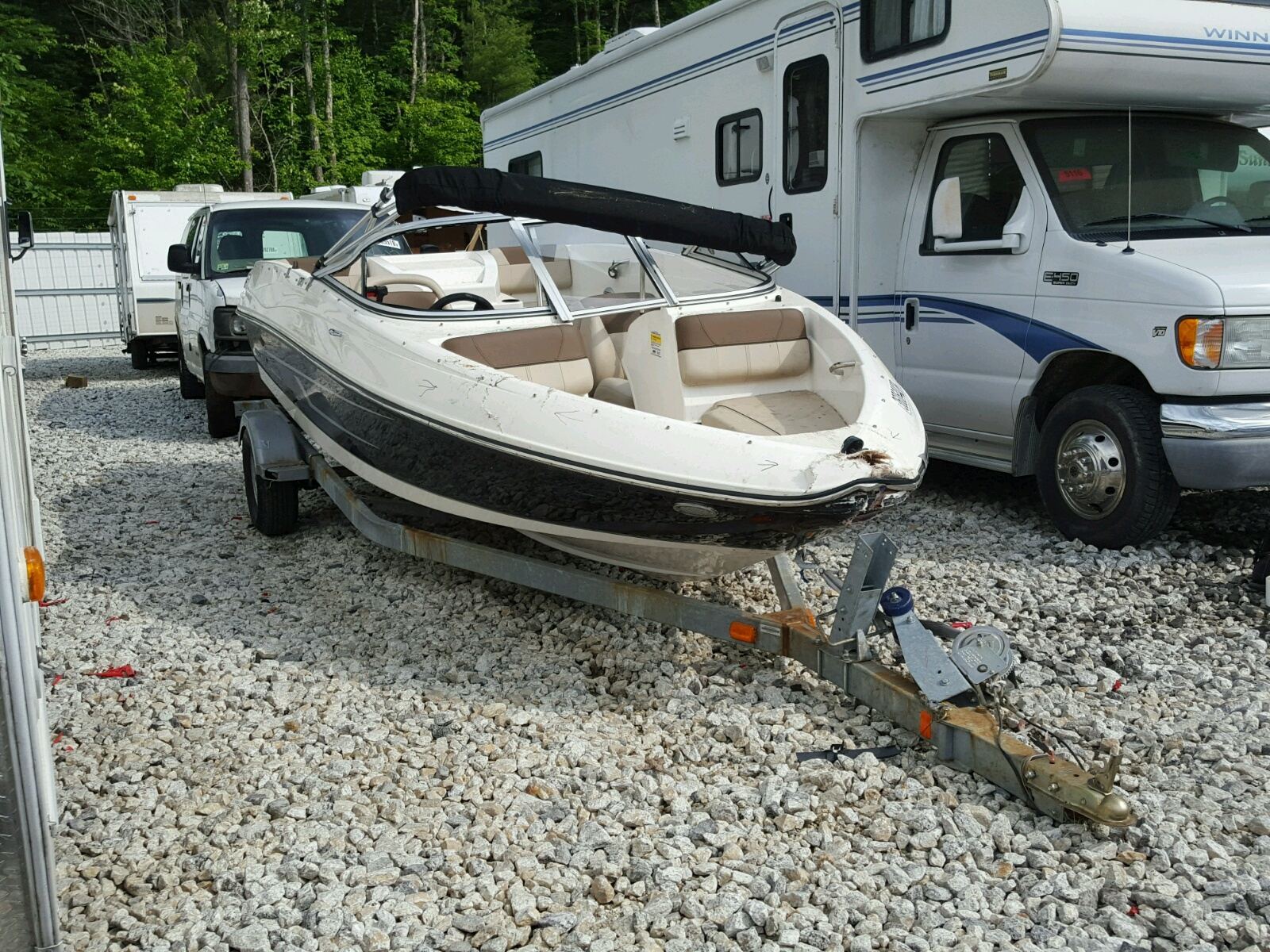 Salvage 2015 Bayliner 175 BR for sale