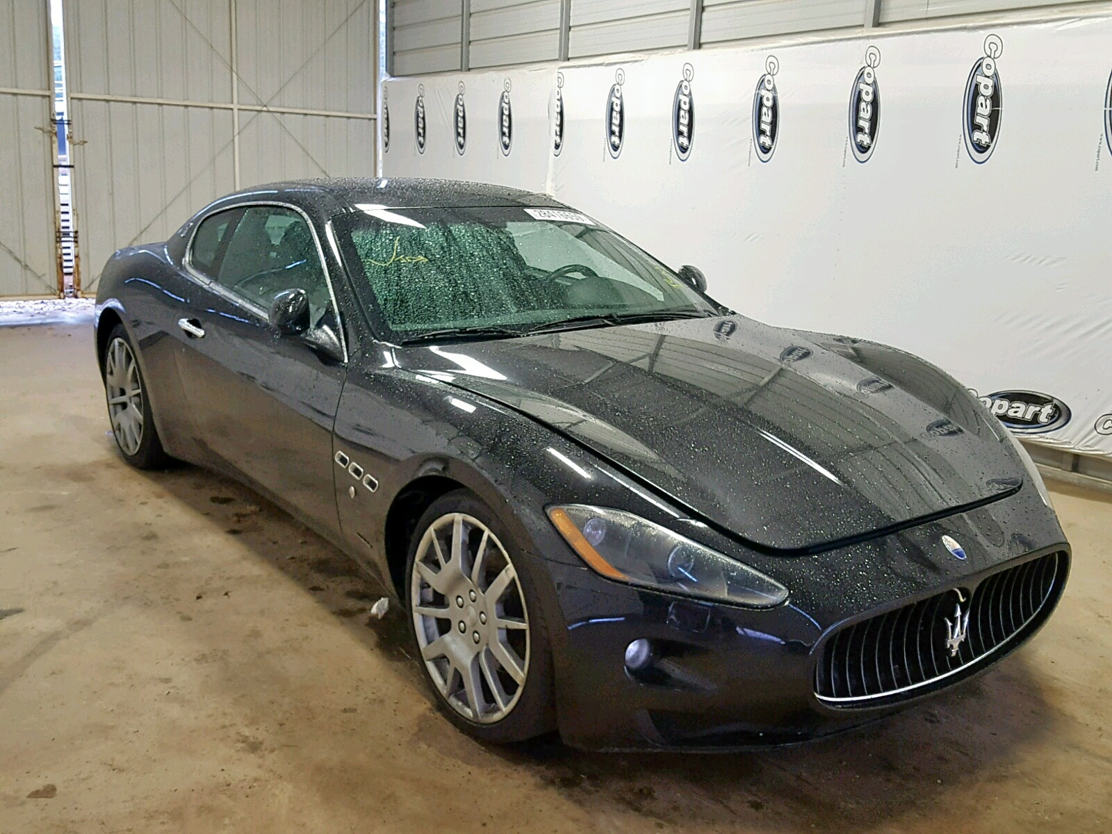 Salvage 2008 Maserati GRANTURISMO for sale