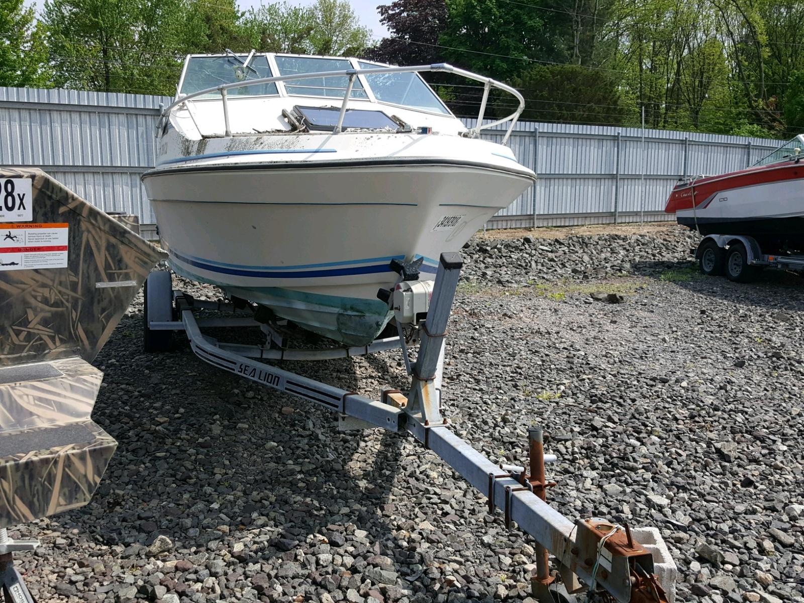 Salvage 1988 Seacat MARINE TRAILER for sale