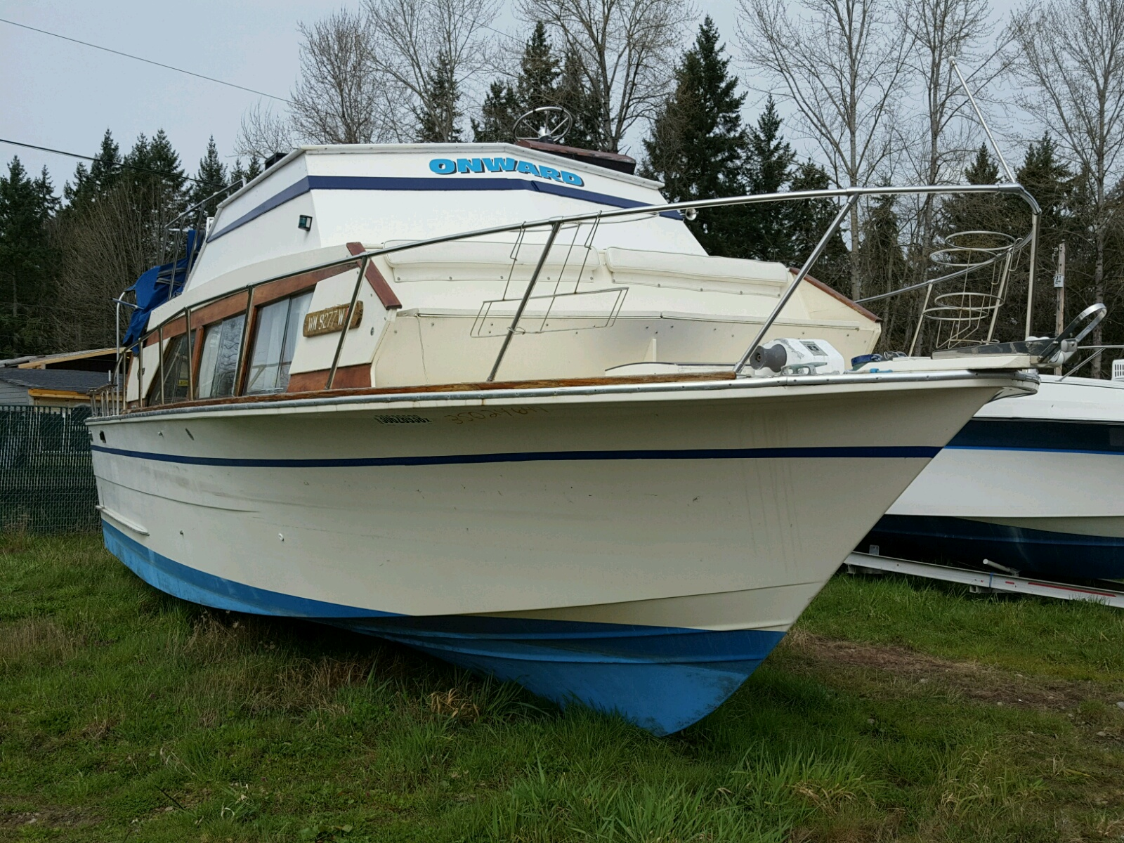Salvage 1976 Carver MARINE LOT for sale