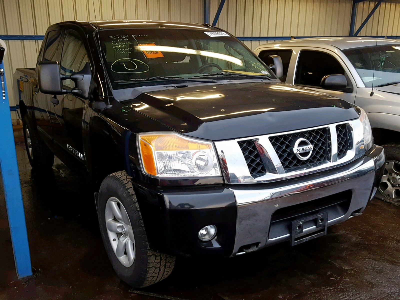 Salvage 2010 Nissan TITAN XE for sale
