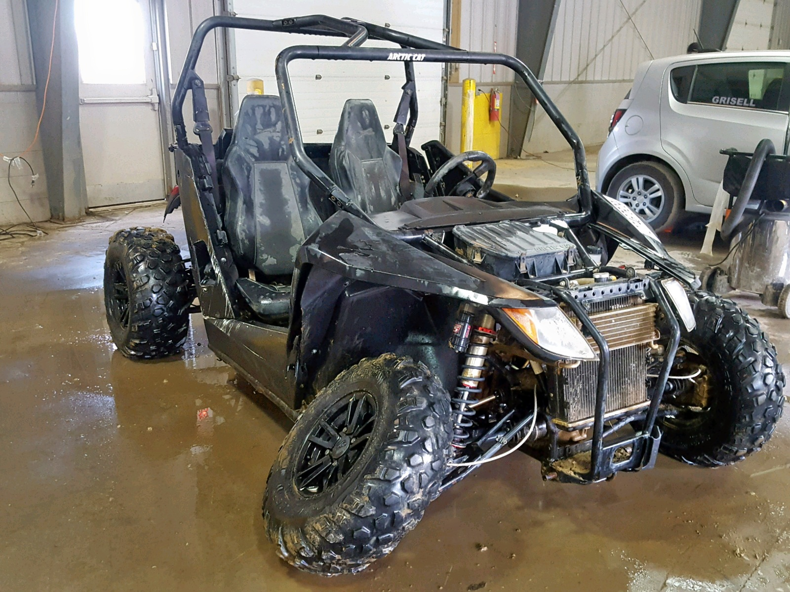 Salvage 2015 Arctic Cat WILDCAT for sale
