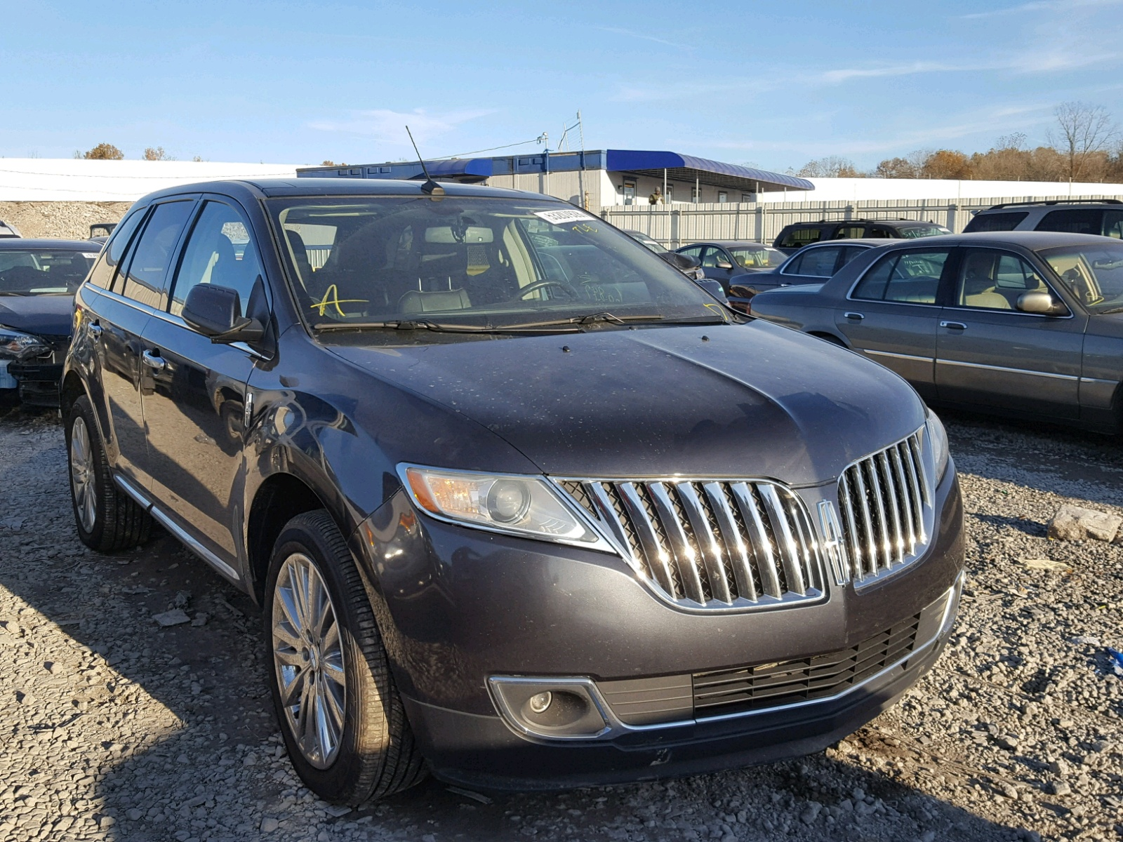 2014 Lincoln Mkx For Sale At Copart Hueytown Al Lot 53207928