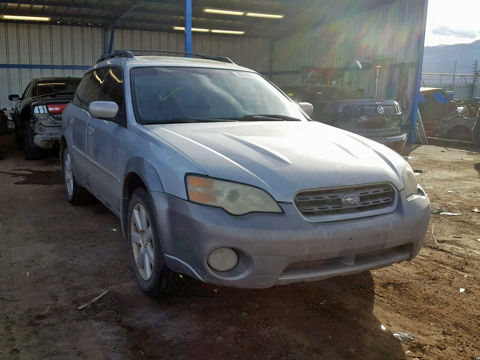 Salvage 2006 Subaru LEGACY OUTBACK for sale