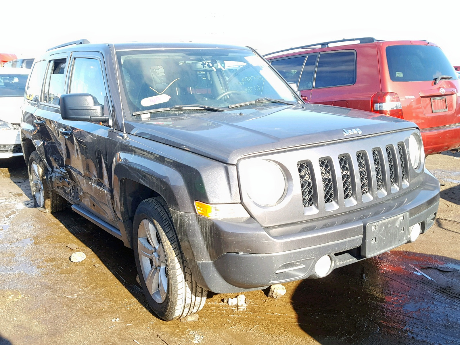 Salvage 2016 Jeep PATRIOT LA for sale
