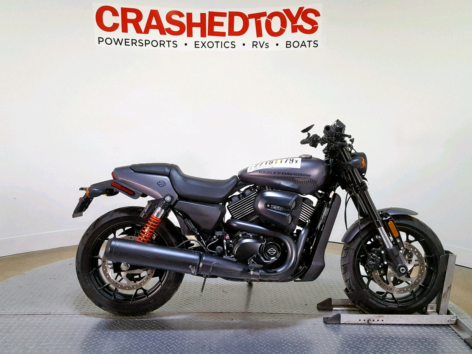 Salvage 2017 Harley-Davidson XG750A A for sale