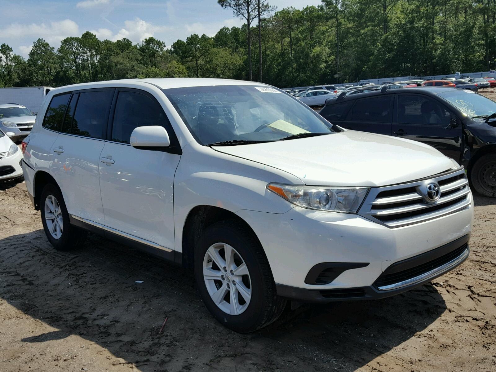 2013 Toyota Highlander for sale at Copart Jacksonville FL Lot