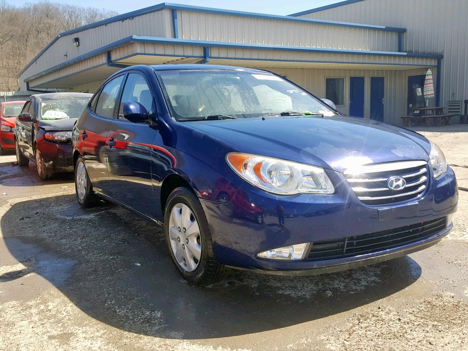 2010 Hyundai Elantra Bl 2 0l 4 For
