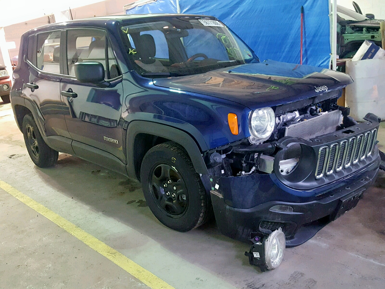 Salvage 2017 Jeep RENEGADE S for sale