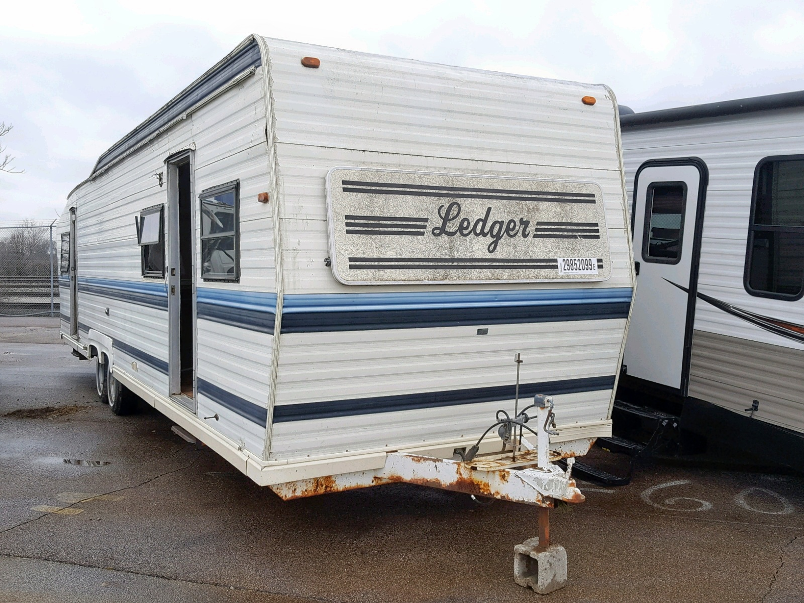 Salvage 1991 Other TRAVEL TRAILER for sale