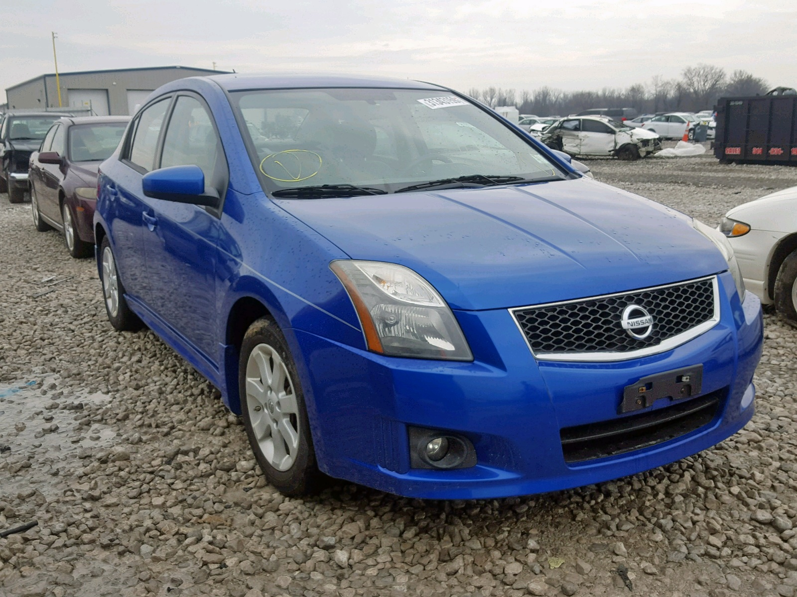Salvage 2011 Nissan SENTRA 2.0 for sale