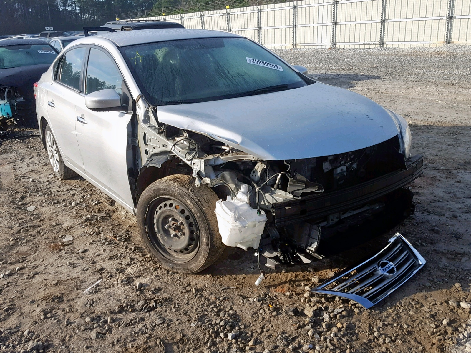 Salvage 2014 Nissan SENTRA S for sale