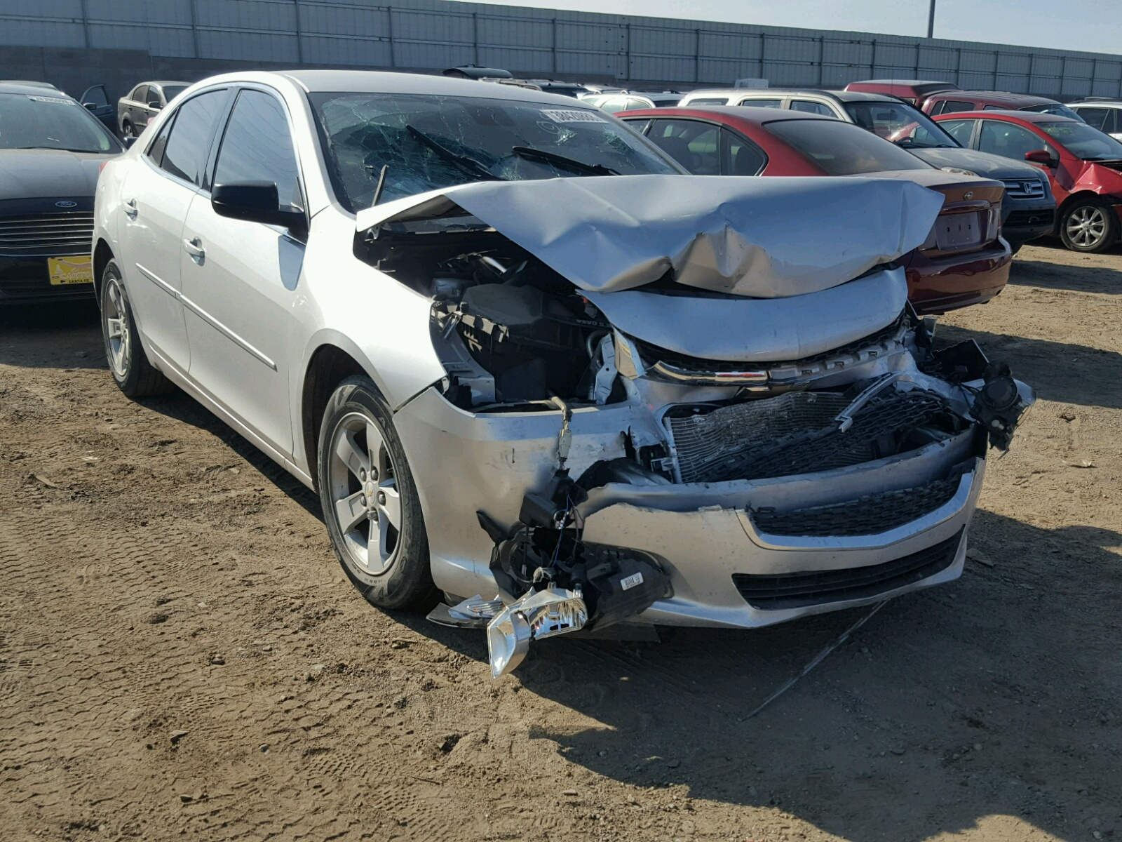 Salvage 2015 Chevrolet MALIBU LS for sale