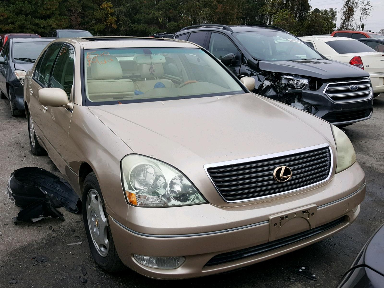 Salvage 2001 Lexus LS 430 for sale