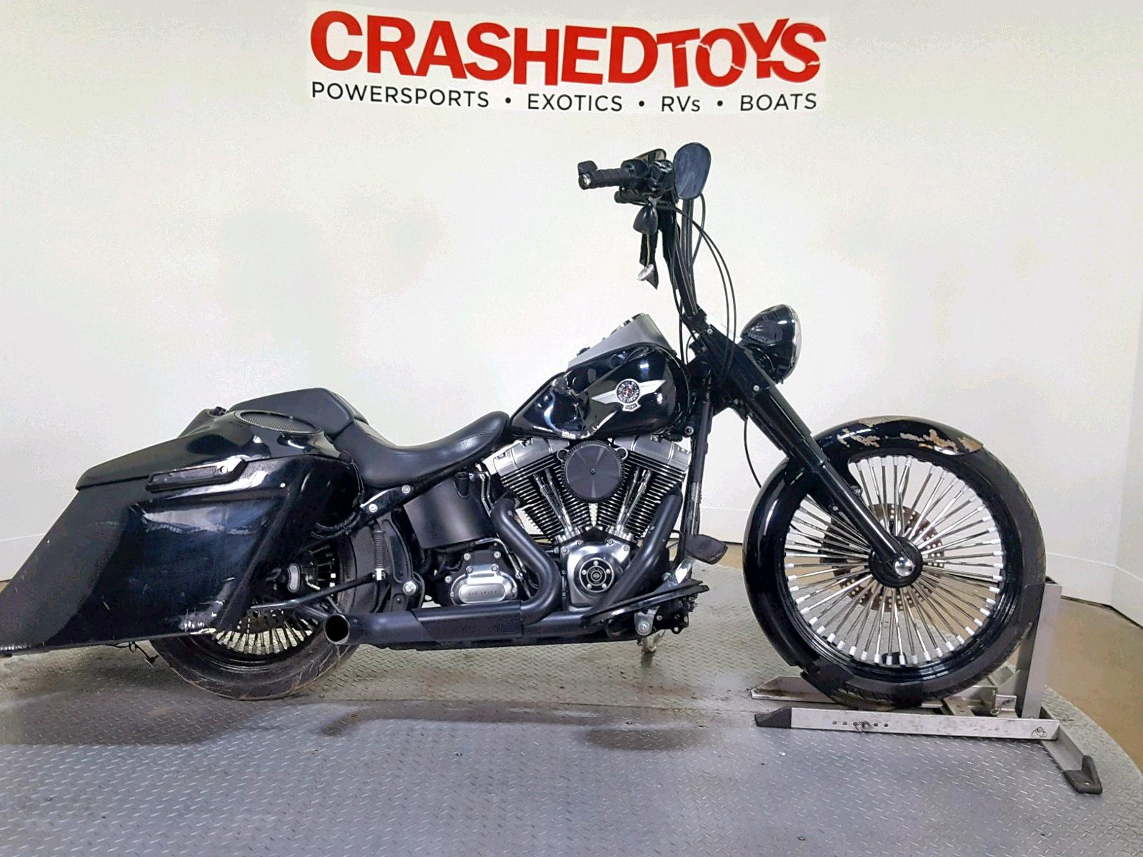 Salvage 2011 Harley-Davidson FLSTFB for sale