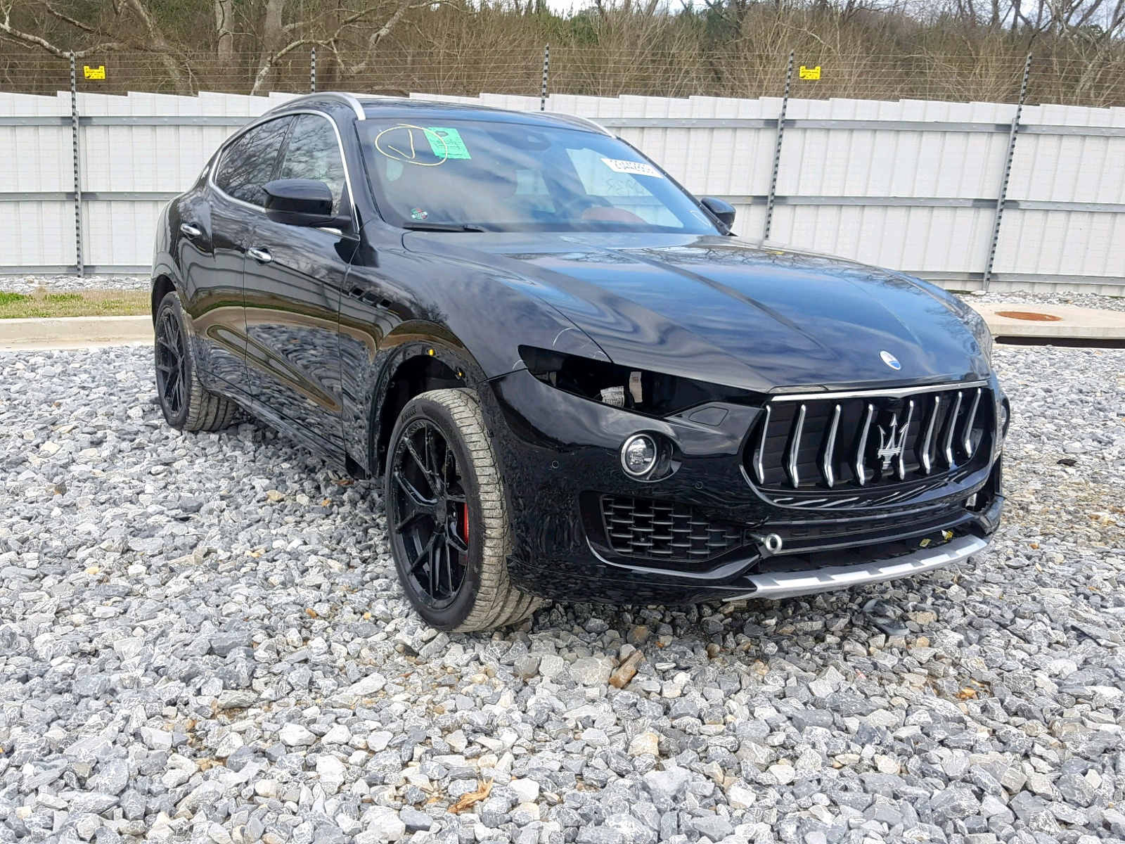 Salvage 2017 Maserati LEVANTE for sale