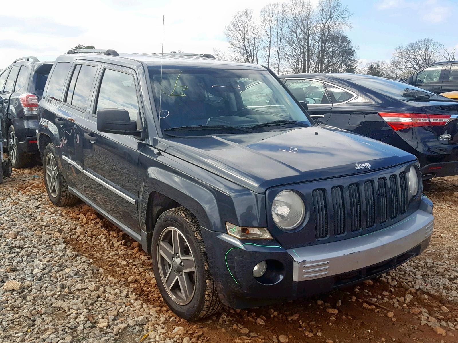 Salvage 2008 Jeep PATRIOT LI for sale