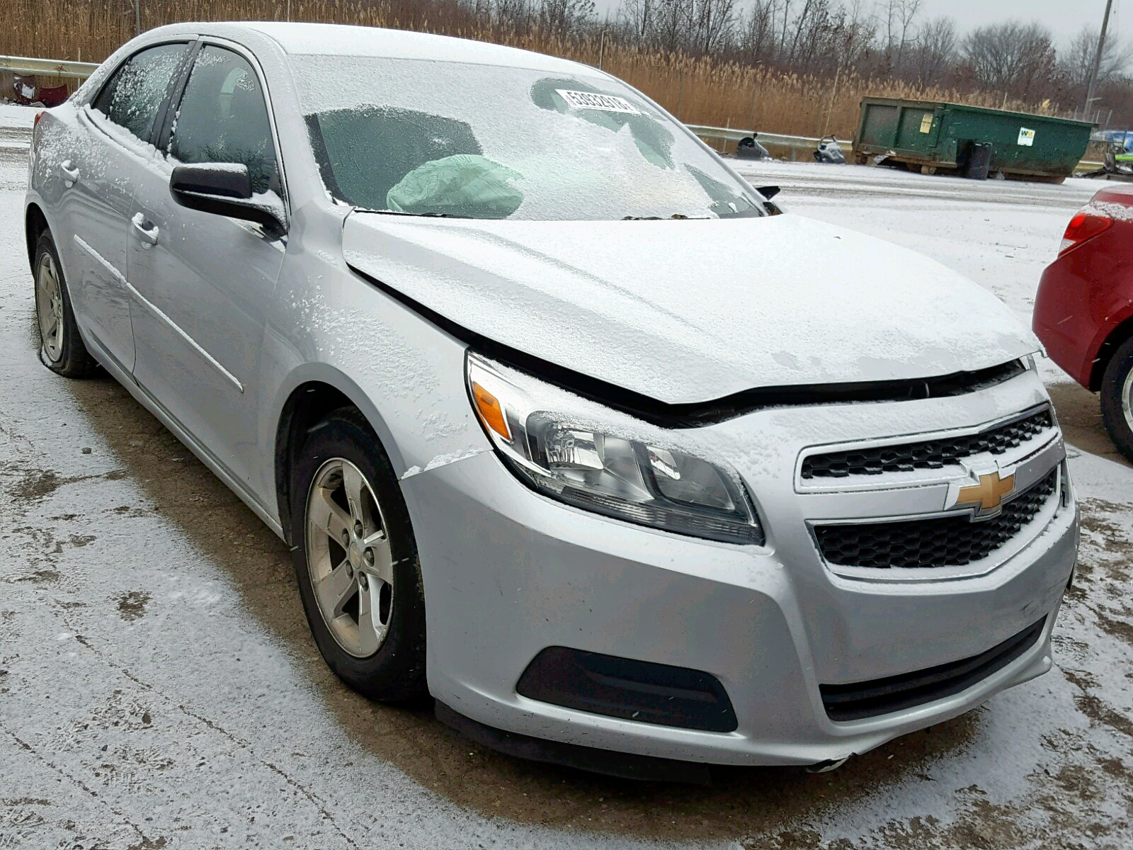 Salvage 2013 Chevrolet MALIBU LS for sale