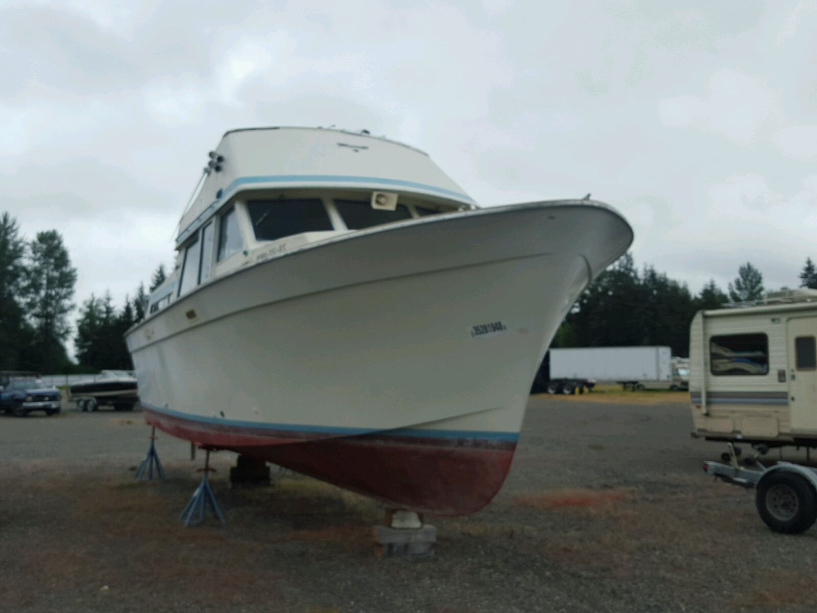 Salvage 1979 Toll MARINE LOT for sale