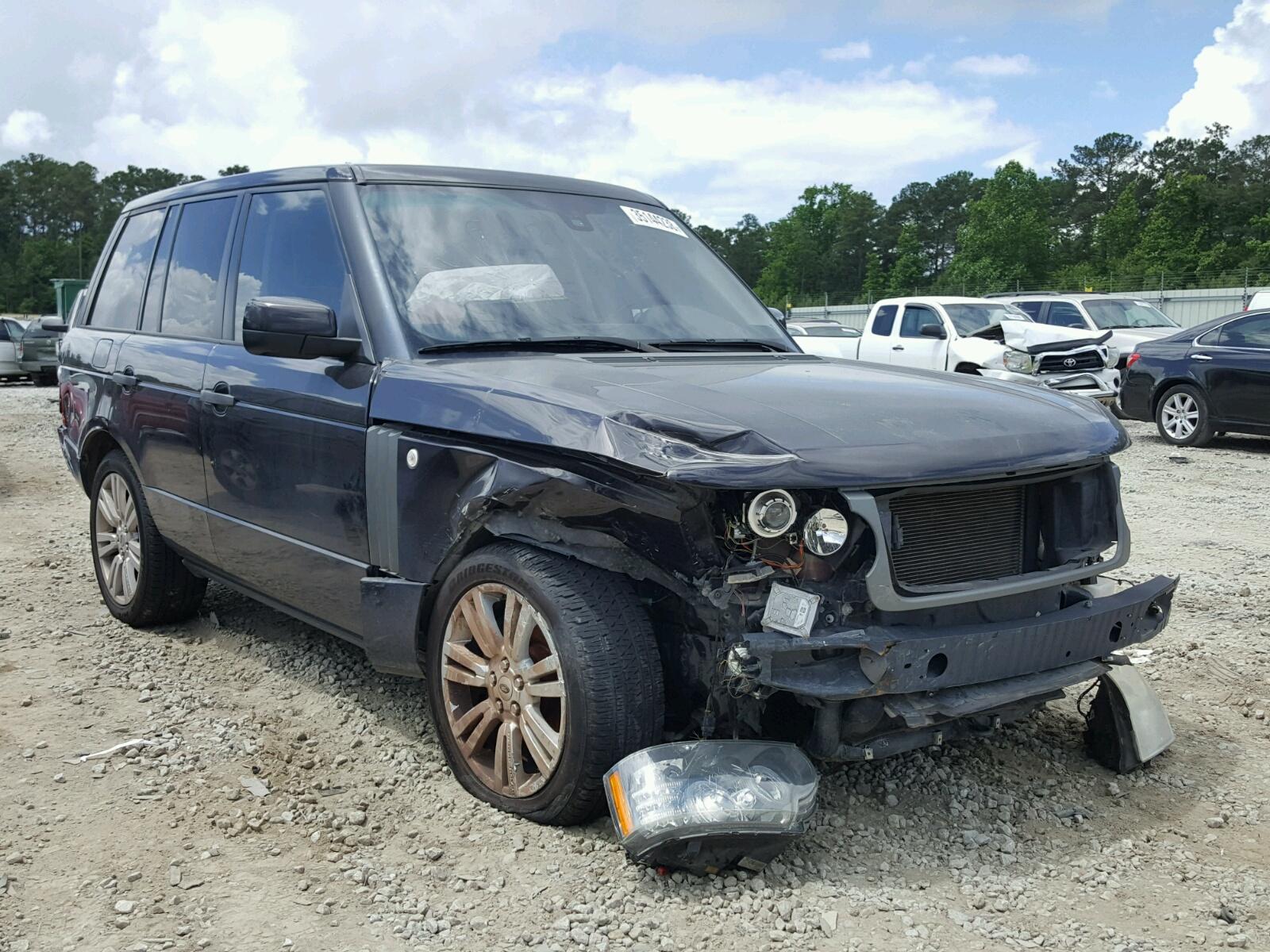 2010 Land Rover Range Rover for sale at Copart Ellenwood GA Lot