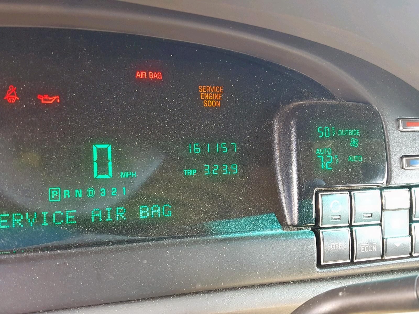 1g6kd54y4xu749397 1999 Cadillac Deville 4 6l Front View