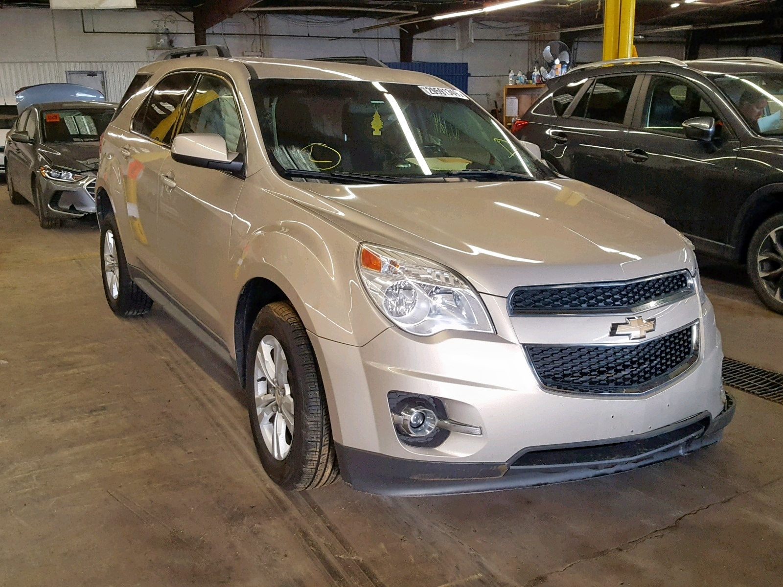 Salvage 2011 Chevrolet EQUINOX LT for sale