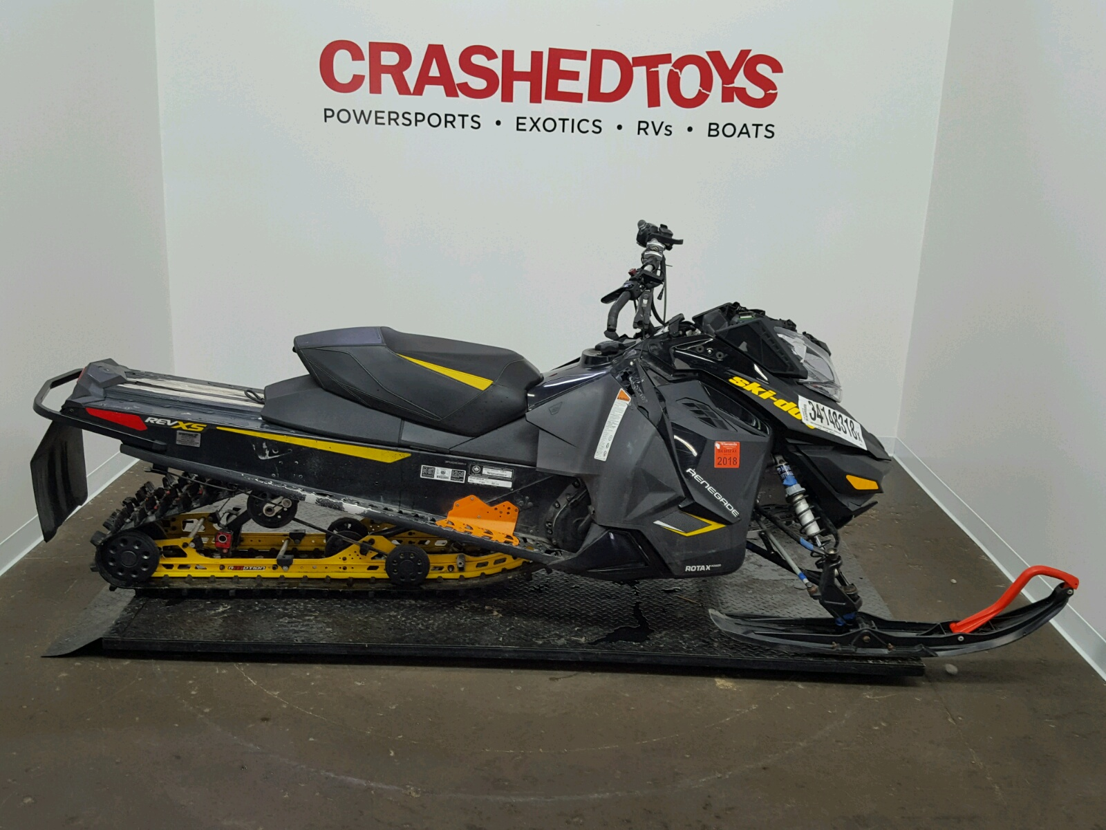 Salvage 2014 Skidoo RENEGADE for sale