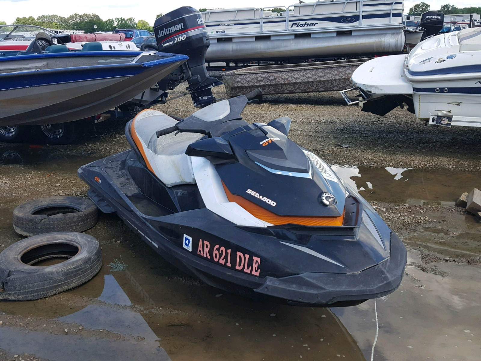 Salvage 2011 Seadoo GTI SE for sale