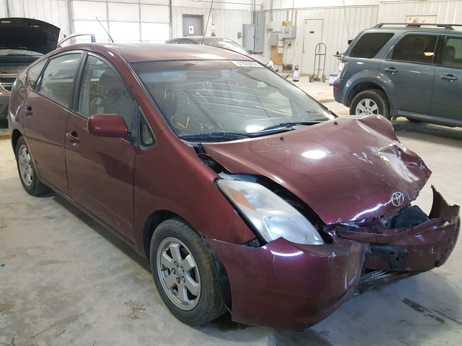 2005 Toyota Prius for sale at Copart Columbia MO Lot