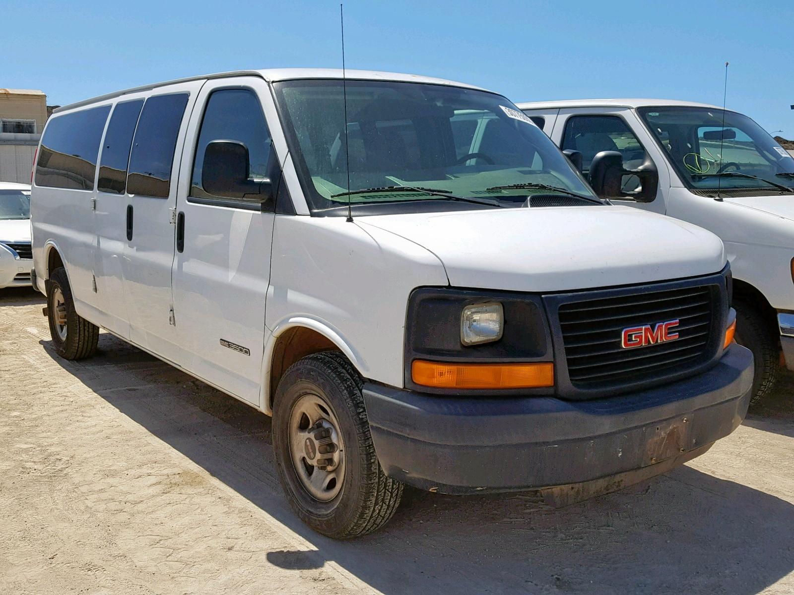 Salvage 2005 GMC SAVANA G35 for sale