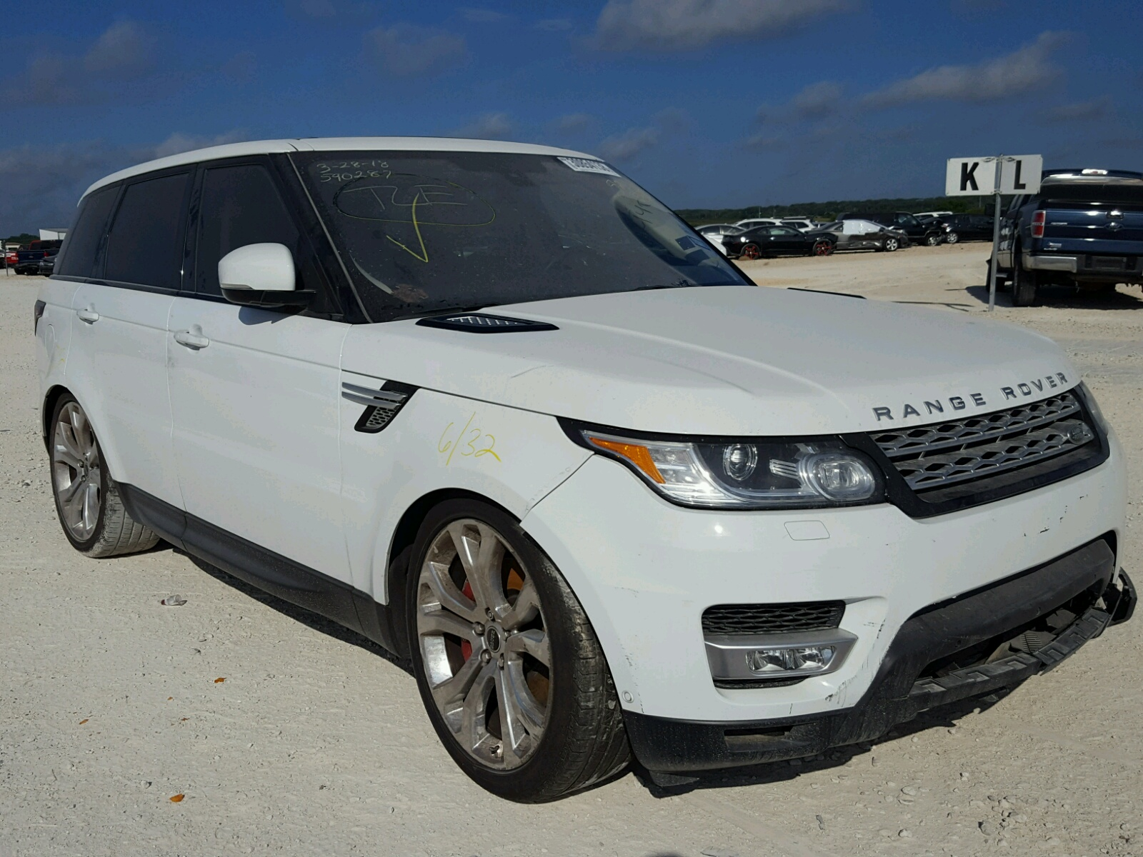 2016 Range Rover Sport For Sale In New Braunfels >> 2016 Land Rover Range Rover For Sale At Copart New Braunfels Tx Lot