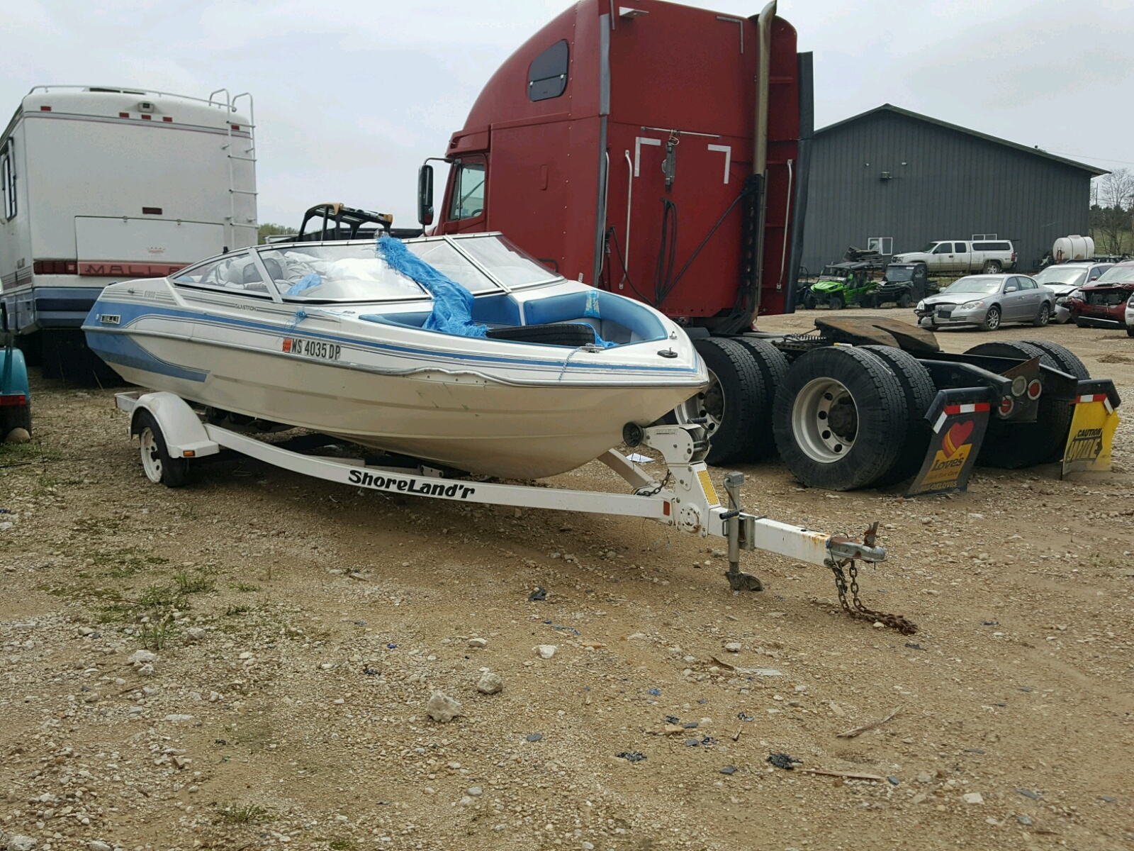 Salvage 1992 Glastron BOAT for sale