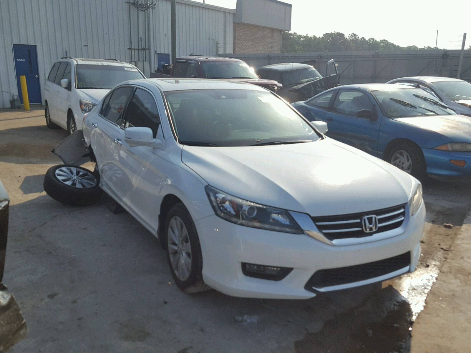 2014 Honda Accord EXL for sale at Copart Montgomery AL Lot