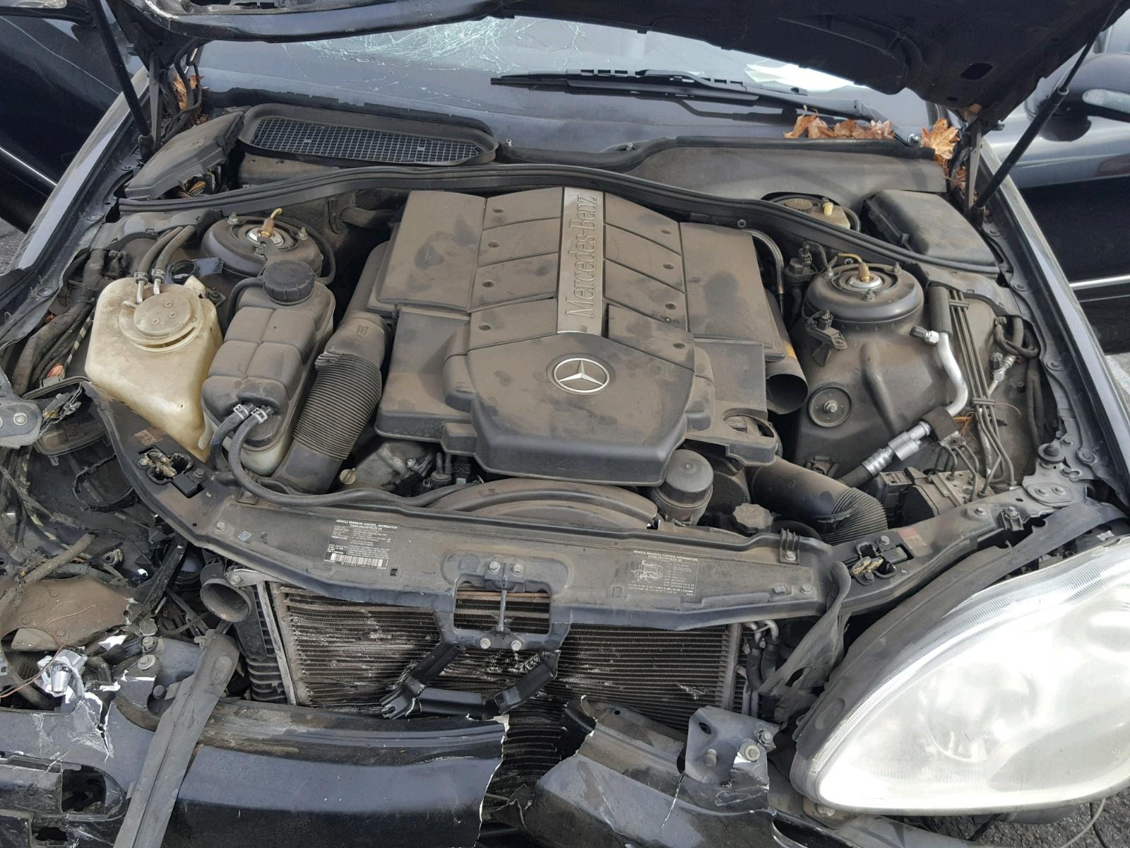 2000 Mercedes-Benz S 500 5 0L 8 in CA - Van Nuys (WDBNG75J5YA050019