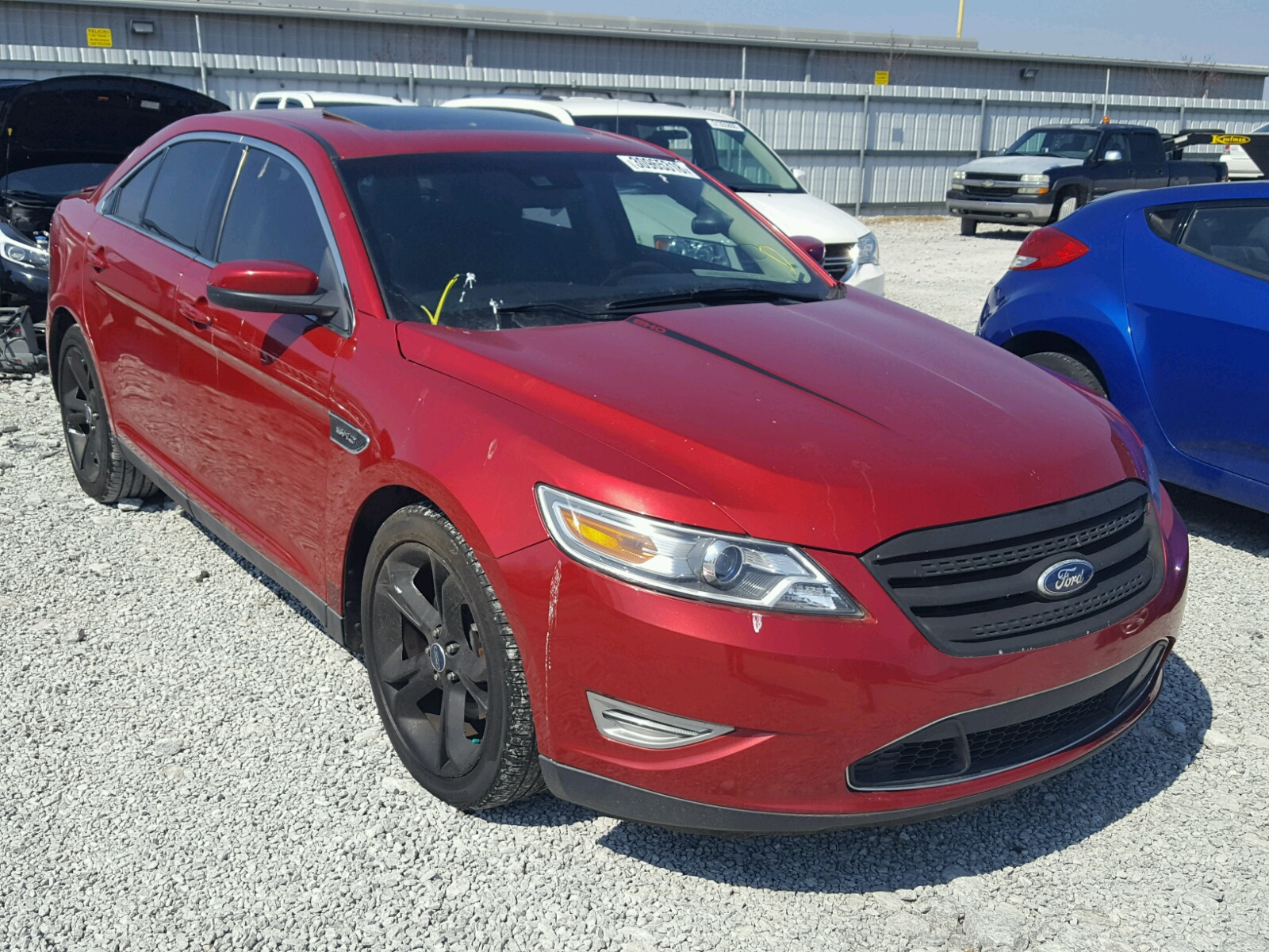 Salvage 2010 Ford TAURUS SHO for sale