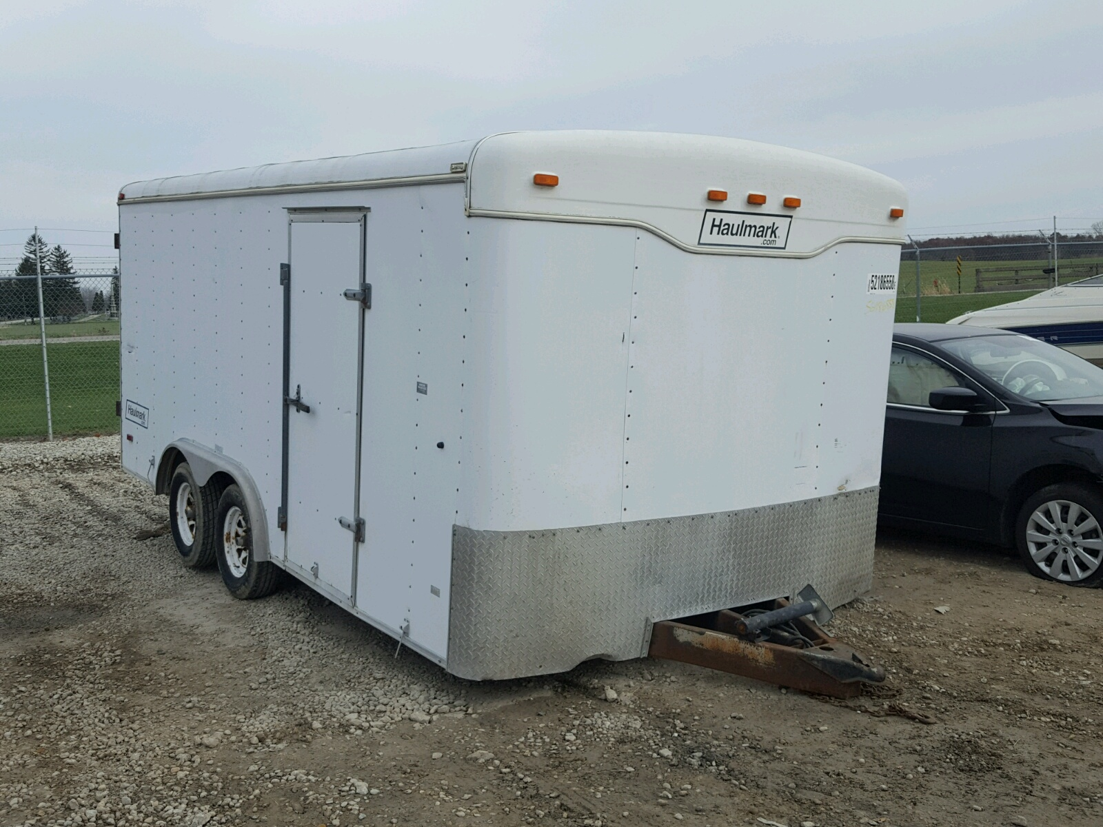 Salvage 2001 Haulmark TRAILER for sale