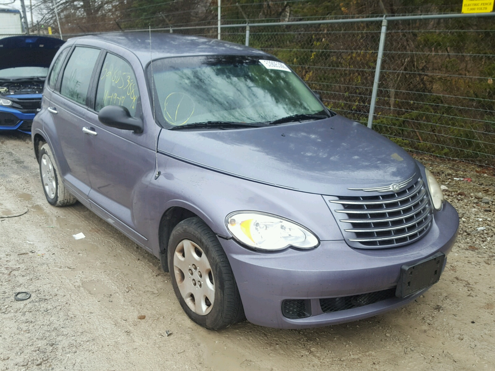 Salvage 2007 Chrysler PT CRUISER for sale