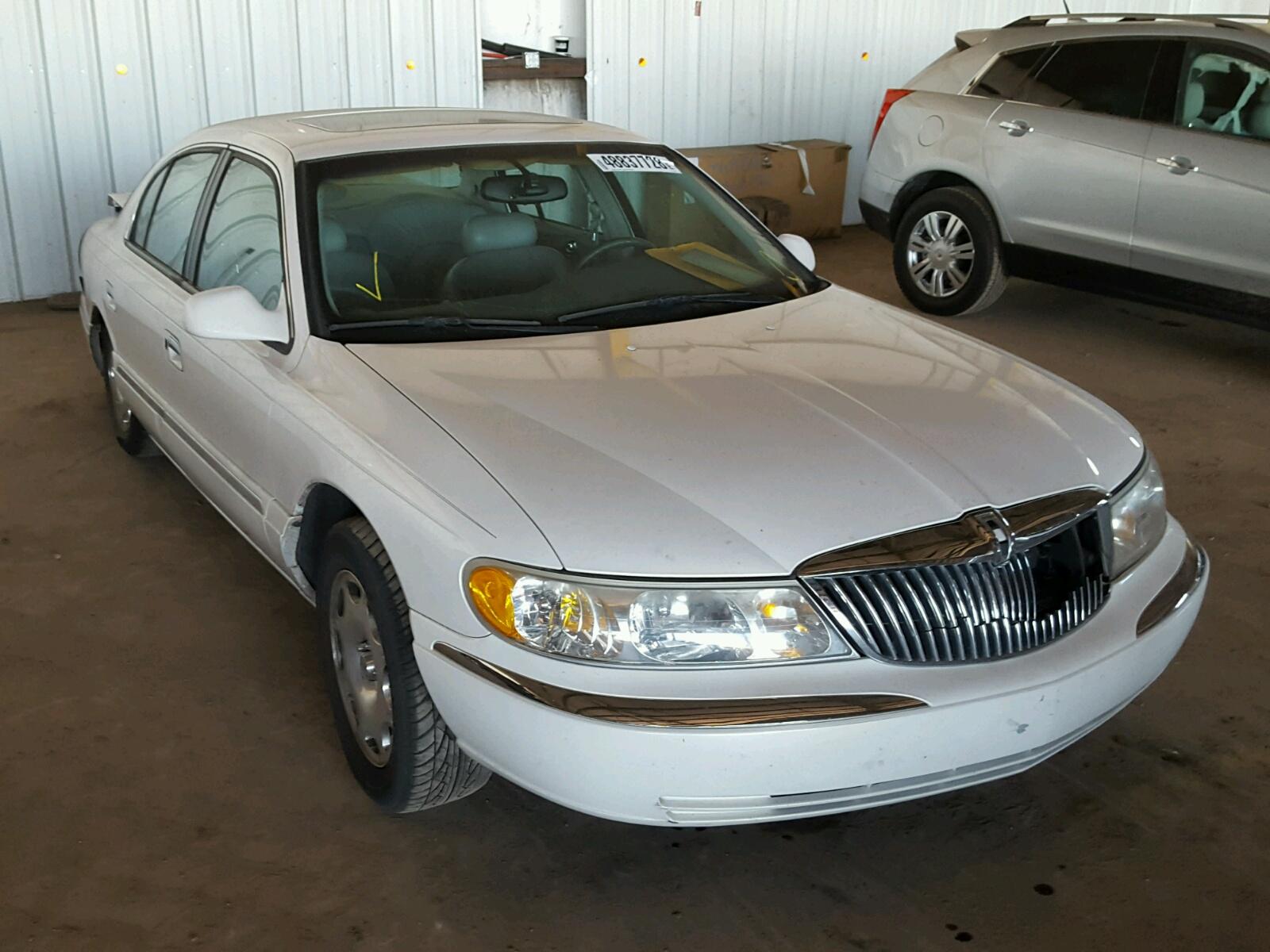 1998 Lincoln Continental For Sale At Copart Phoenix  Az