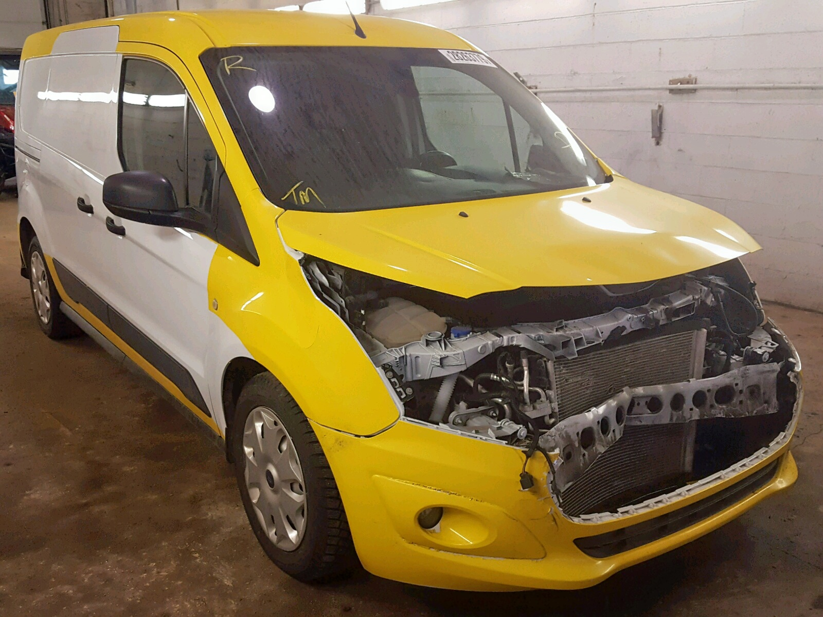Salvage 2014 Ford TRANSIT CO for sale