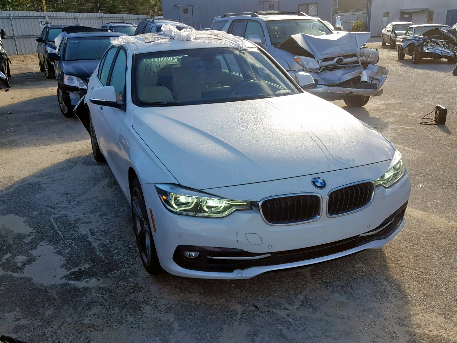 Salvage 2016 BMW 340 I for sale