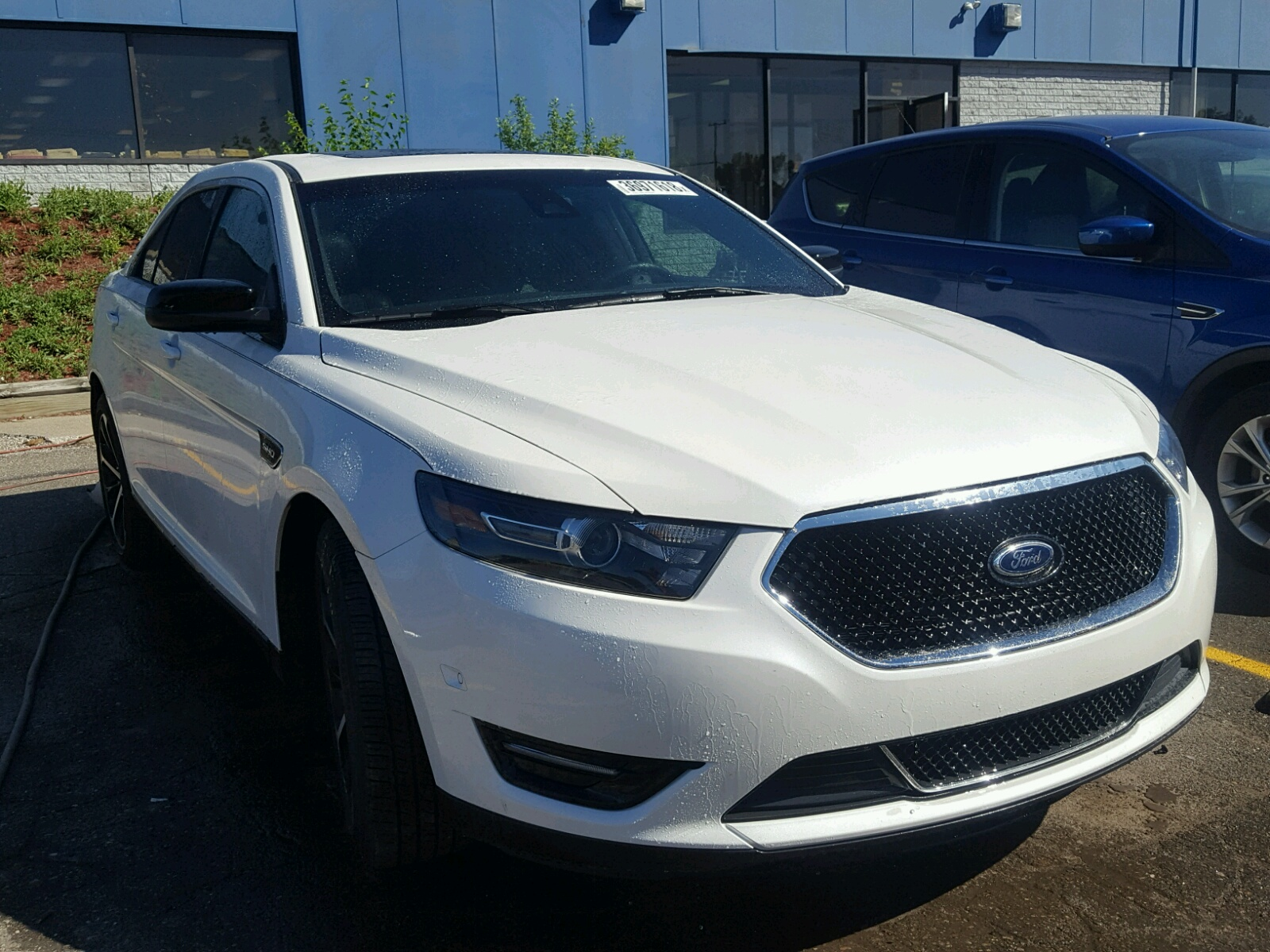 2016 Ford Taurus SHO for sale at Copart Woodhaven MI Lot