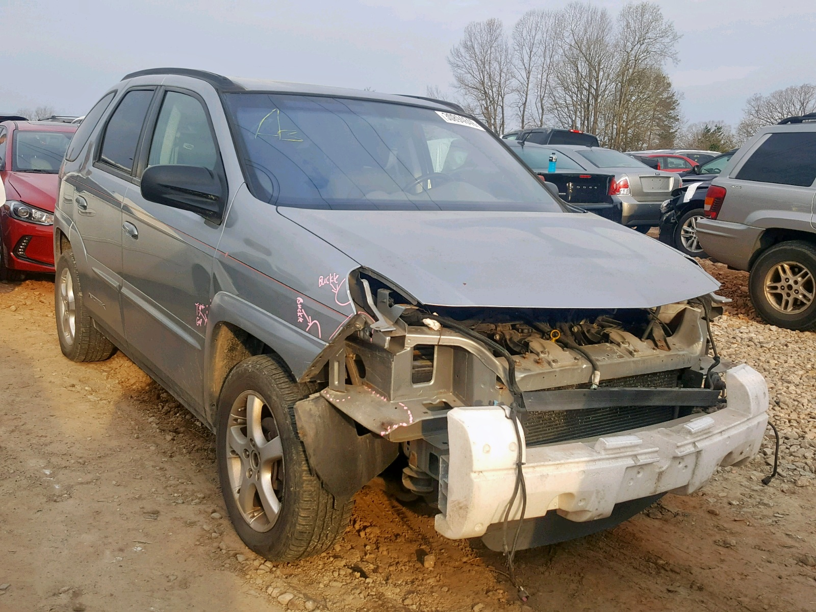 Salvage 2004 Pontiac AZTEK for sale