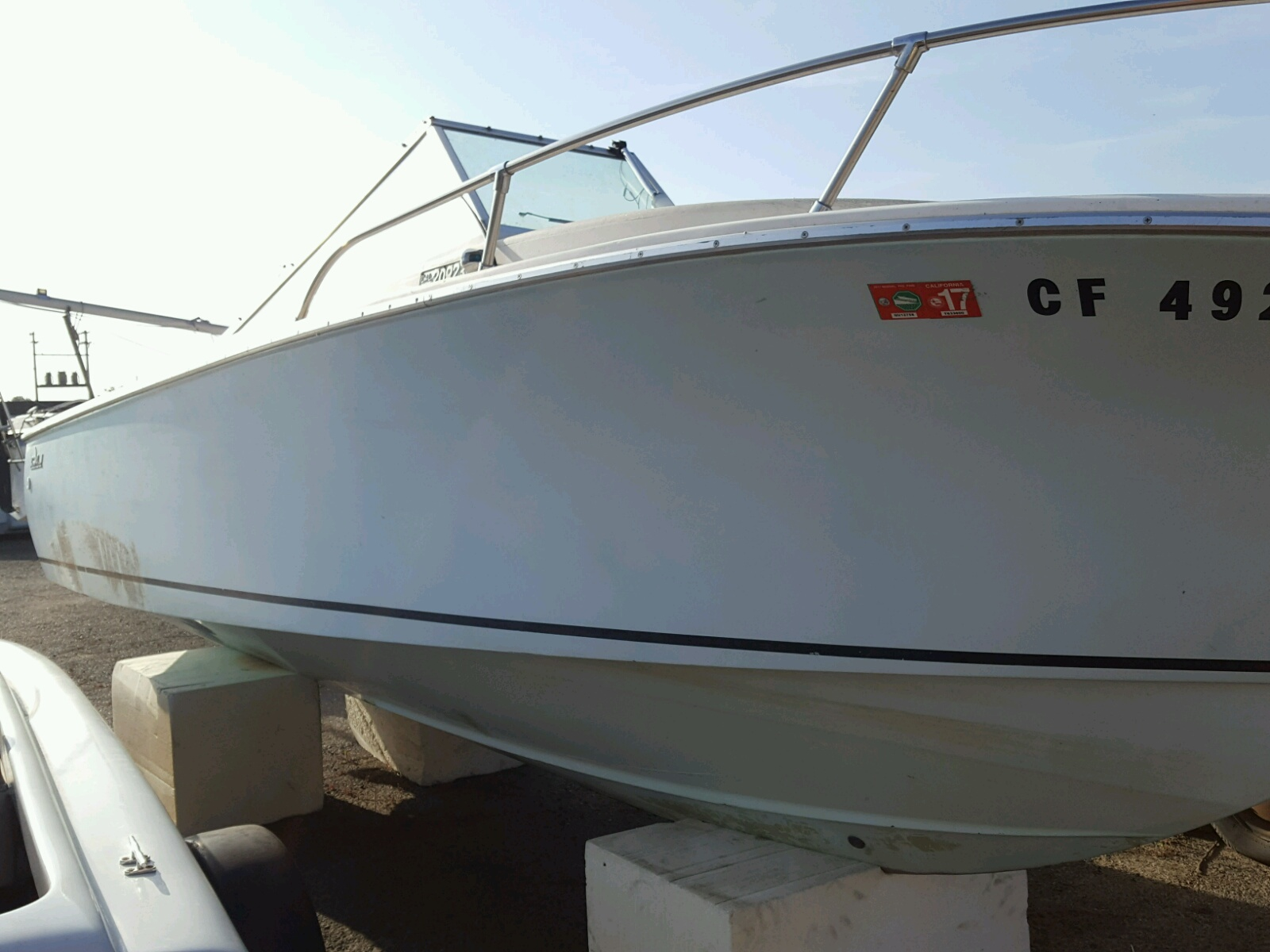 Salvage 1971 Seab RUNABOUT for sale